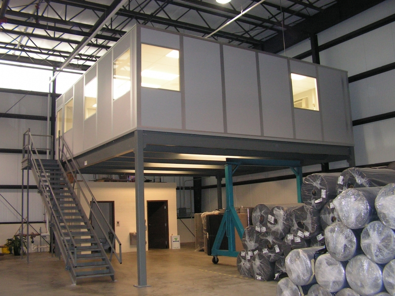 Structural sub system nde steel structures ltd for Steel mezzanine design